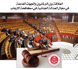 العلاقة بين البرلمانيين والجهات الفاعلة